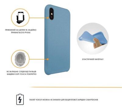 Чехол Intaleo Velvet для Samsung Galaxy A6 A600 Blue 2