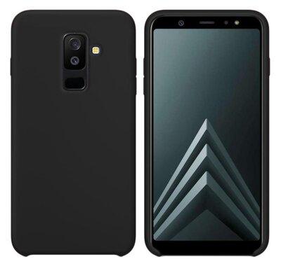 Чохол Intaleo Velvet для Samsung Galaxy A6+ A605 Black 1