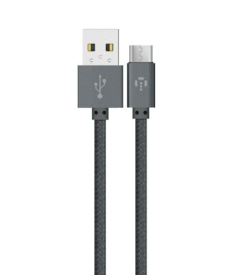 Кабель Intaleo CBGNYM1 Micro USB 1м Gray 1