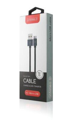 Кабель Intaleo CBGNYM1 Micro USB 1м Gray 3