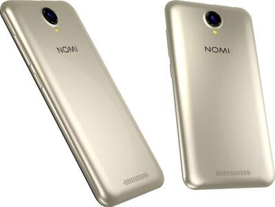 Смартфон Nomi i5001 EVO M3 Go Gold 4