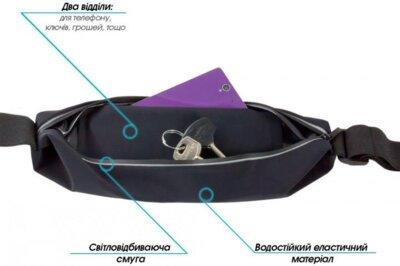 Чохол на пояс універсальний Piko GWF15006 Black 2