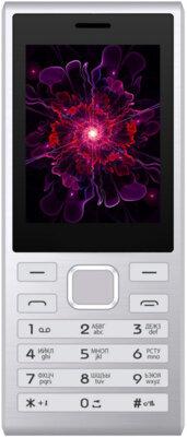 Мобильный телефон Nomi i247 Silver 1