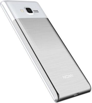 Мобильный телефон Nomi i247 Silver 6
