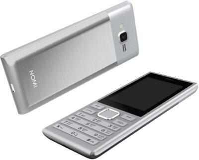 Мобильный телефон Nomi i247 Silver 9