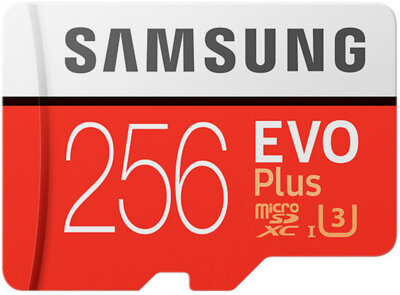 Карта пам'яті Samsung microSDXC 256GB EVO Plus Class 10 UHS-I U3 MB-MC256GA/RU 1
