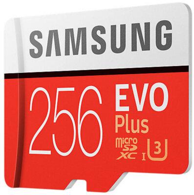 Карта пам'яті Samsung microSDXC 256GB EVO Plus Class 10 UHS-I U3 MB-MC256GA/RU 2
