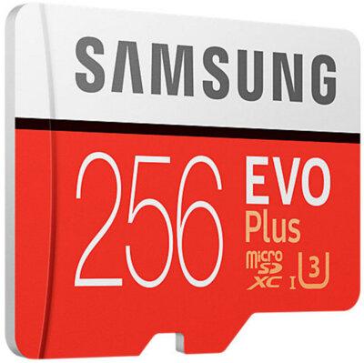 Карта пам'яті Samsung microSDXC 256GB EVO Plus Class 10 UHS-I U3 MB-MC256GA/RU 3