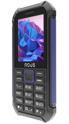 Мобільний телефон Nous Hardy NS 2414 Black Blue 2