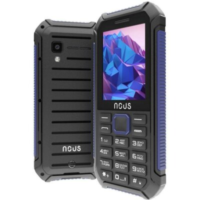 Мобільний телефон Nous Hardy NS 2414 Black Blue 4