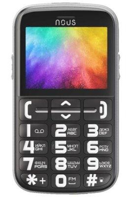 Мобильный телефон Nous Helper NS 2422 Black Silver 1