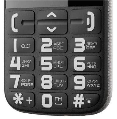 Мобильный телефон Nous Helper NS 2422 Black Silver 3