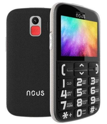 Мобильный телефон Nous Helper NS 2422 Black Silver 4