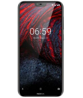 Смартфон Nokia 6.1 Plus 4/64GB DS Black 1