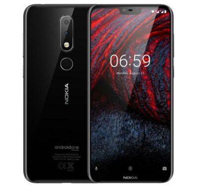 Смартфон Nokia 6.1 Plus 4/64GB DS Black 3