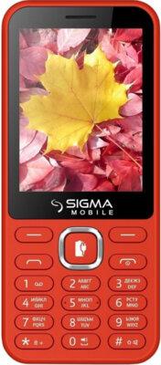 Мобильный телефон Sigma X-style 31 Power Red 1
