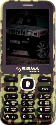 Мобильный телефон Sigma X-style 31 Power Khaki 1