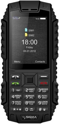 Мобильный телефон Sigma X-treme DT68 Black 1