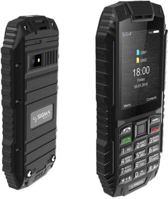 Мобильный телефон Sigma X-treme DT68 Black 5
