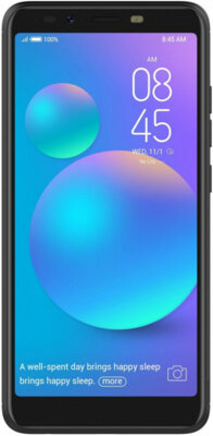 Смартфон Tecno POP 1s F4 1/16GB Dual Sim Midnight Black 1
