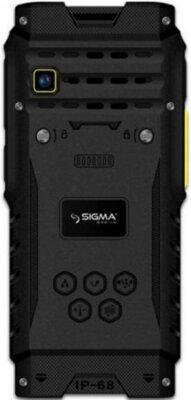 Мобильный телефон Sigma X-treme DZ68 Black/Yellow 2
