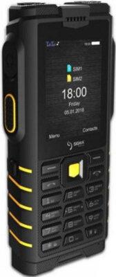Мобильный телефон Sigma X-treme DZ68 Black/Yellow 3