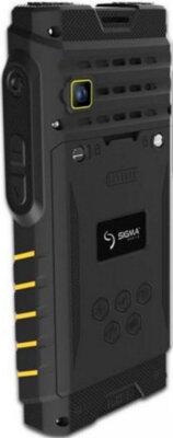 Мобильный телефон Sigma X-treme DZ68 Black/Yellow 5