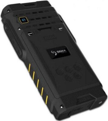 Мобильный телефон Sigma X-treme DZ68 Black/Yellow 9