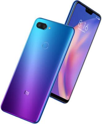 Смартфон Xiaomi Mi8 Lite 4/64GB Aurora Blue 7