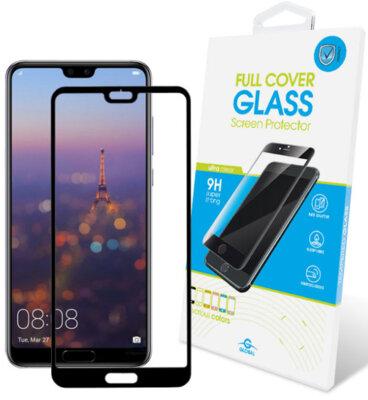 Захисне скло Global TG Full Cover для Huawei P20 Black 1