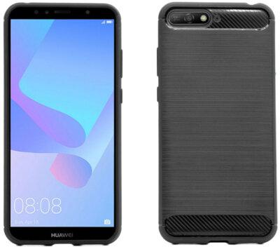 Чехол GlobalCase Leo для Huawei Y6 2018 Black 2