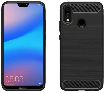 Чохол GlobalCase Leo для Huawei P20 Lite Black 2