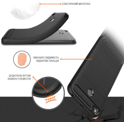 Чохол GlobalCase Leo для Huawei P20 Lite Black 3