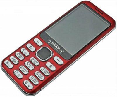 Мобільний телефон Sigma X-style 33 Steel Red 2