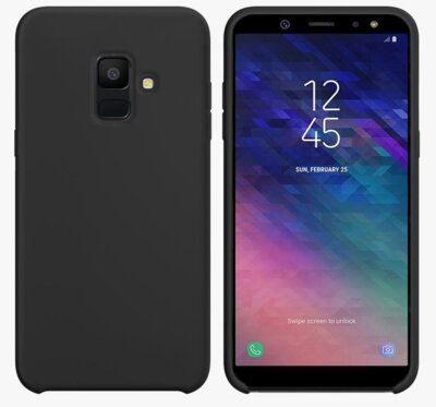 Чехол Intaleo Velvet для Samsung Galaxy A6 A600 Black 1