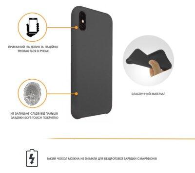 Чехол Intaleo Velvet для Samsung Galaxy A6 A600 Black 2