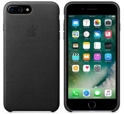 Чохол Apple Leather Case Black для iPhone 7 Plus 3