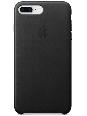 Чохол Apple Leather Case Black для iPhone 7 Plus 1
