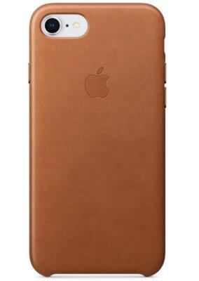 Чохол Apple Leather Case Saddle Brown для iPhone 7 1