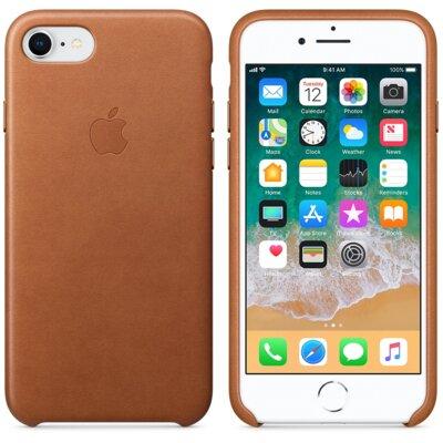 Чохол Apple Leather Case Saddle Brown для iPhone 7 3