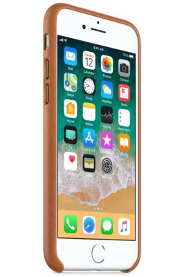 Чохол Apple Leather Case Saddle Brown для iPhone 7 4