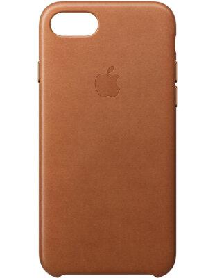 Чохол Apple Leather Case Saddle Brown для iPhone 7 2