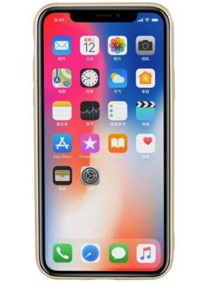 Чохол T-PHOX Shiny для iPhone X Gold 2