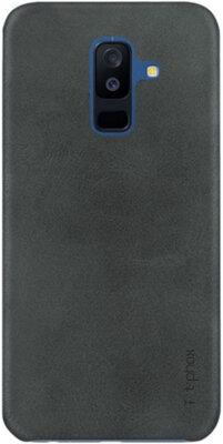 Чехол T-PHOX Vintage для Samsung Galaxy A6+ A605 Black 1