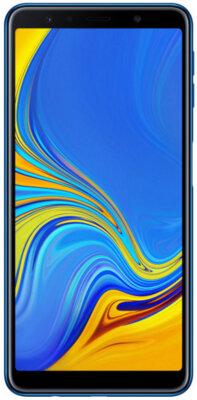 Чехол T-PHOX Crystal для Samsung Galaxy A7 (2018) A750 Blue 2