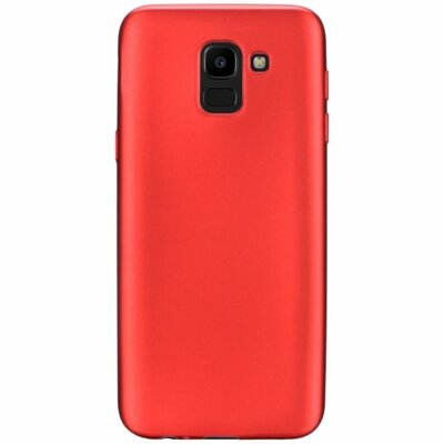 Чехол T-PHOX Shiny для Samsung Galaxy J6 J600 Red 1