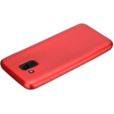 Чехол T-PHOX Shiny для Samsung Galaxy J6 J600 Red 4