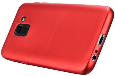 Чехол T-PHOX Shiny для Samsung Galaxy J6 J600 Red 5