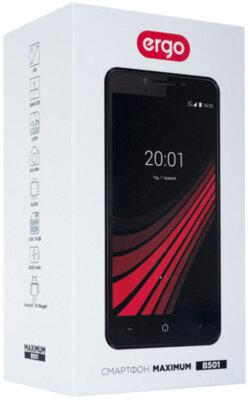 Смартфон Ergo B501 Maximum Dual Sim Gold 9