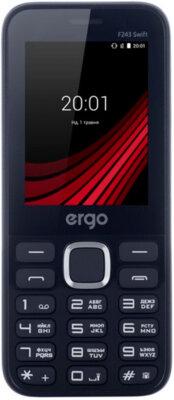 Мобильный телефон Ergo F243 Swift Dual Sim Blue 1